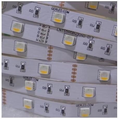 RUBAN LED PRO- RGB + BLANC CHAUD