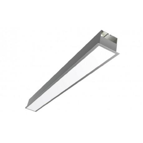Ligne encastrée PROLINE LED - 85 mm large