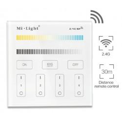 Interrupteur sans fil éclairage blanc dynamique