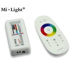 Télécommande + récepteur pour ruban LED RGBW (couleur) MILIGHT