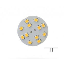 Ampoule disque LED 2w- G4 - connecteur à l'arrière