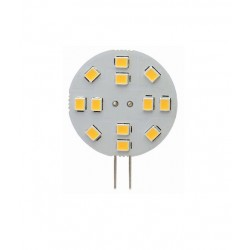 Ampoule disque LED 2w- G4 - connecteur sur le côté