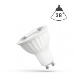 Ampoule LED GU10 pour spot 6w 38°