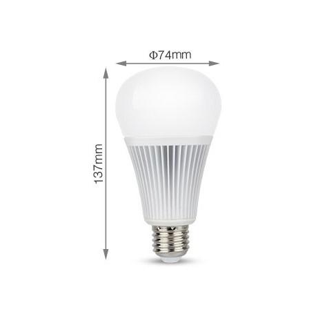 Ampoule LED couleur+blanc dynamique 9w-E27