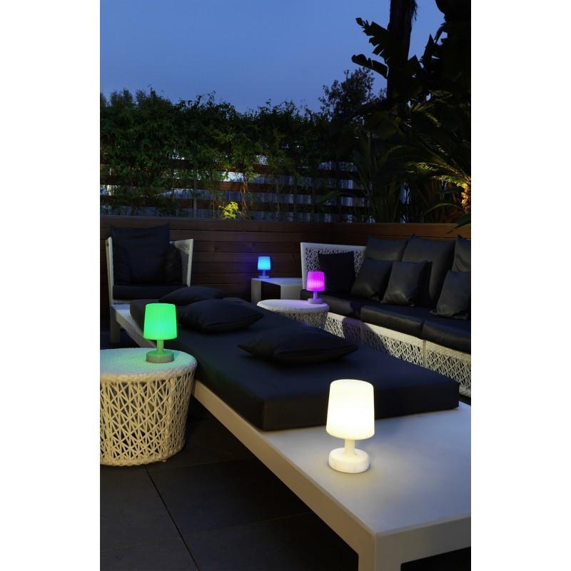 lampe de table usage ext rieur rechargeable. Black Bedroom Furniture Sets. Home Design Ideas