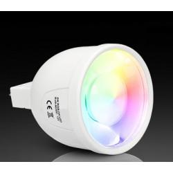 Ampoule LED MR16- 4w- -couleur et blanc chaud MILIGHT