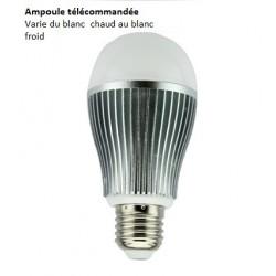 Ampoule LED E27 - 9w -blanc dynamique MILIGHT