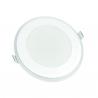Panneau rond  LED avec halo de lumière
