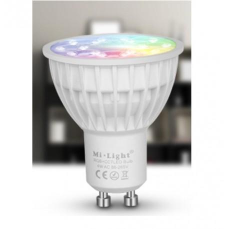 Ampoule GU10  LED 4w wifi RGB CCT Milight