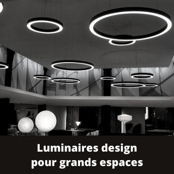 luminaires design pour grands espaces